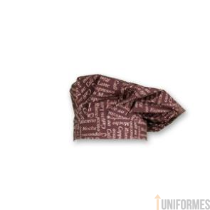 GORRO GRAN CHEF color 706 VELCRO Ref:4482GAR712
