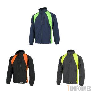 Cazadora workshell wind stopper bicolor Ref:WF1640