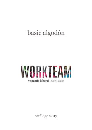 Workteam Basic Algodón 2017