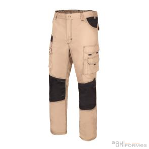 Pantalón Canvas Bicolor Multibolsillo Ref:103011B
