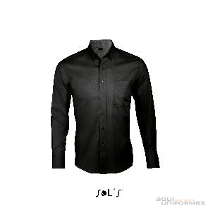 Camisa caballero manga larga Twill BUSINESS MAN Ref:00551