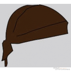 Gorro pirata chocolate Ref:0007