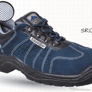 Zapato Steellite Perforated Trainer S1P Azul Ref:FW02